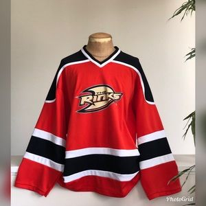 "Anaheim Ducks ""The Rinks"" Hockey Jersey"